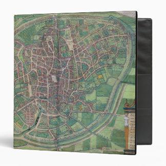 Town Plan of Brussels, from 'Civitates Orbis Terra Binder