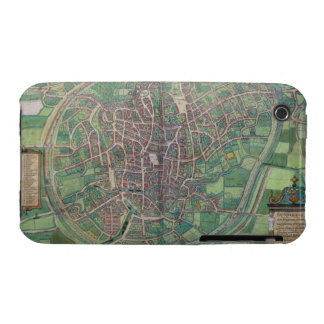 Town Plan of Brussels, from 'Civitates Orbis Terra iPhone 3 Case