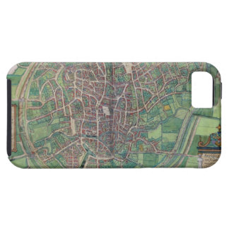 Town Plan of Brussels, from 'Civitates Orbis Terra iPhone SE/5/5s Case