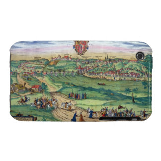 Town Plan of Grodno, from 'Civitates Orbis Terraru iPhone 3 Cover