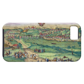 Town Plan of Grodno, from 'Civitates Orbis Terraru iPhone SE/5/5s Case