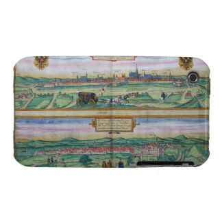 Town Plan of Vienna and Buda, from 'Civitates Orbi Case-Mate iPhone 3 Case