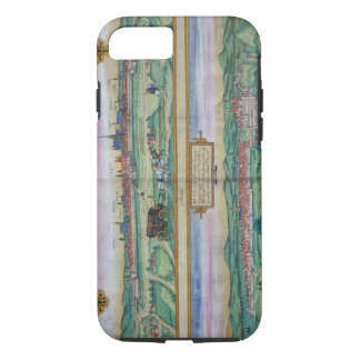 Town Plan of Vienna and Buda, from 'Civitates Orbi iPhone 8/7 Case
