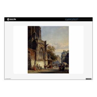 "Town Square Before A Church A Capriccio by Corneli Skin For 15"" Laptop"