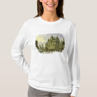 Town square with figures and peasants trading T-Shirt