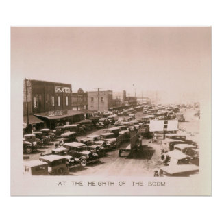 Town View during Boom, Kilgore, Texas 1931 / 32 Posters