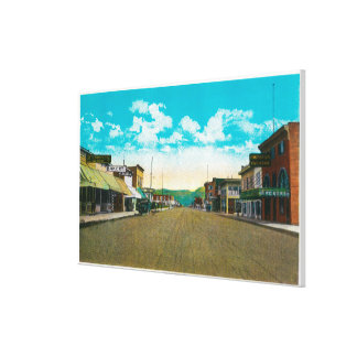 Town View of Anchorage, AlaskaAnchorage, AK Canvas Print