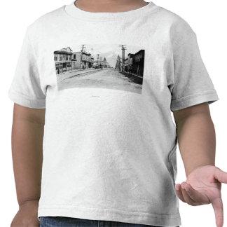 Town View of Skagway, Alaska Photograph Tee Shirts