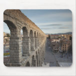 Town view over Plaza Azoguejo & El Acueducto Mouse Pad