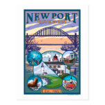 Town Views - Newport, Oregon Post Cards