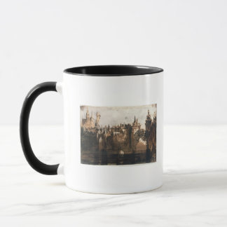 Town with a Broken Bridge Mug