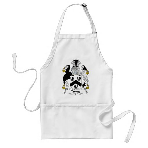 Towne Family Crest Aprons