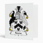 Towne Family Crest Binder