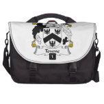 Towne Family Crest Laptop Bags
