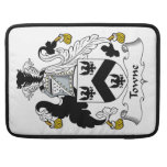 Towne Family Crest Sleeves For MacBook Pro