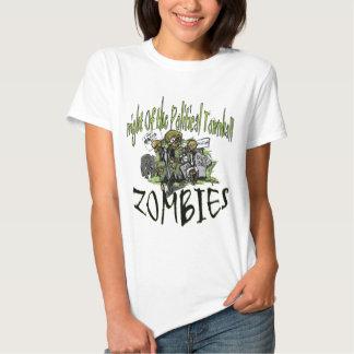 townhall zombie halloween tee