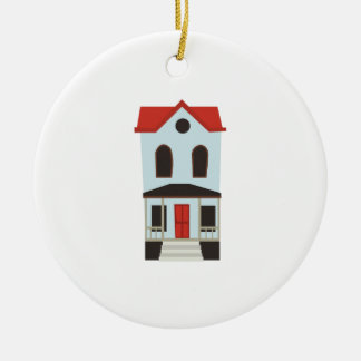 Townhouse Ceramic Ornament