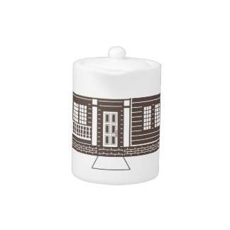 TownHouse row of townhomes vector Teapot