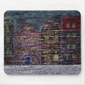 Townhouses Mouse Pad