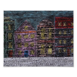 Townhouses Photo Print