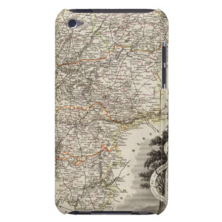 Towns and cities shown Color along boundaries iPod Touch Cover