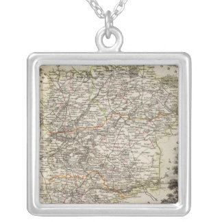 Towns and cities shown Color along boundaries Custom Jewelry