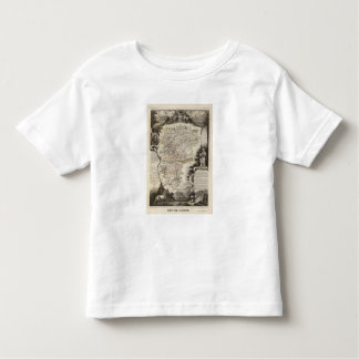 Towns and cities shown Color along boundaries Toddler T-shirt