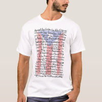 Towns of Puerto Rico T-Shirt