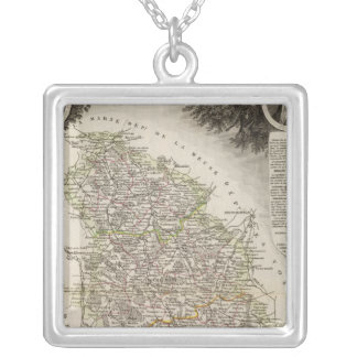 Towns Silver Plated Necklace