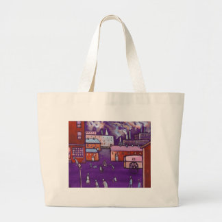 TOWNSCAPE LARGE TOTE BAG