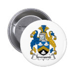 Townsend Family Crest Buttons