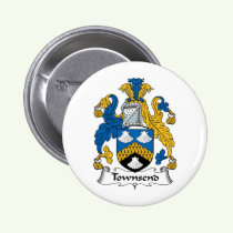 Townsend Family Crest Button