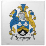 Townsend Family Crest Cloth Napkins