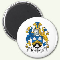 Townsend Family Crest Magnet