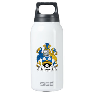 Townsend Family Crest Insulated Water Bottle