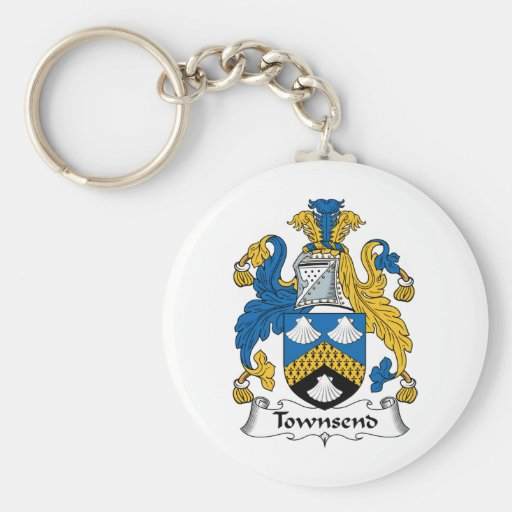 Townsend Family Crest Keychains