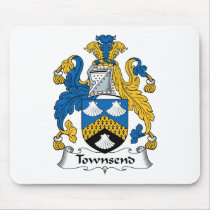 Townsend Family Crest Mousepad