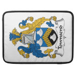 Townsend Family Crest Sleeve For MacBooks