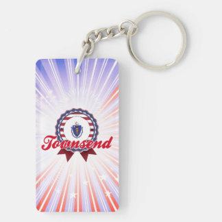 Townsend, MA Acrylic Keychain