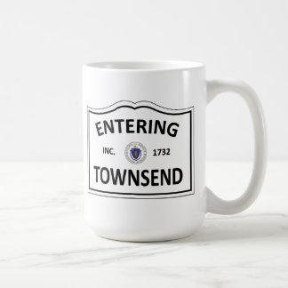 TOWNSEND MASSACHUSETTS Hometown Mass MA Townie Coffee Mug