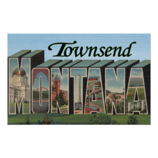Townsend, Montana Poster