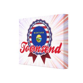 Townsend, TA Lona Envuelta Para Galerias