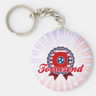 Townsend, TN Keychain