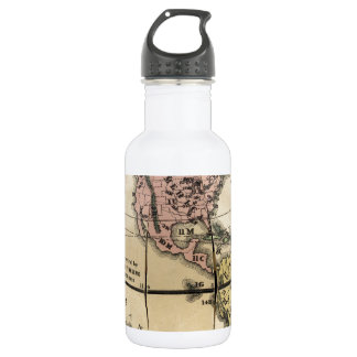 Townsend's Patent Folding Globe Stainless Steel Water Bottle