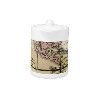 Townsend's Patent Folding Globe Teapot