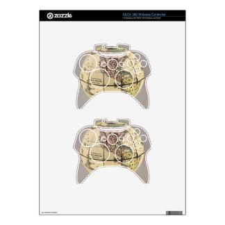Townsend's Patent Folding Globe Xbox 360 Controller Skin
