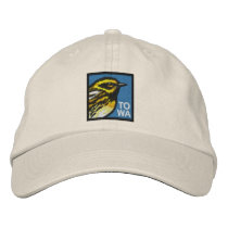 Townsend's Warbler (non-distressed) Embroidered Baseball Hat