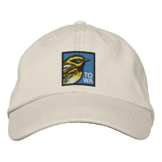 Townsend's Warbler (non-distressed) Embroidered Baseball Cap