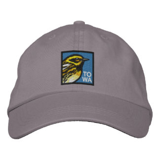 Townsend's Warbler (non-distressed) Embroidered Hat