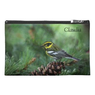 Townsend's warbler songbird travel accessory bag